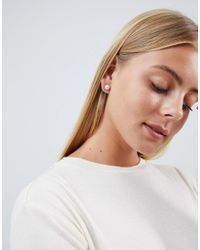 Krystal London - Metallic Two Pack Swarovski Crystal Stud Earrings - Lyst