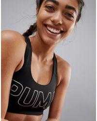 PUMA - Black Power Shape Crop - Lyst