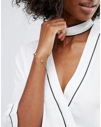 Pilgrim - Metallic Gold Plated Bracelet - Lyst
