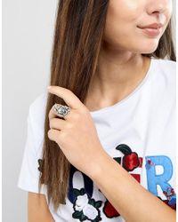 Rock N Rose - Metallic Rock N Rose Sterling Silver Juliette Rose Ring - Lyst