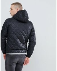 G-Star RAW - Black Meefic Quilted Jacket for Men - Lyst