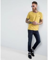 Nudie Jeans - Yellow Co Ove Pocket T-shirt for Men - Lyst