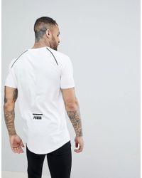 PUMA - White Evo Core T-shirt for Men - Lyst