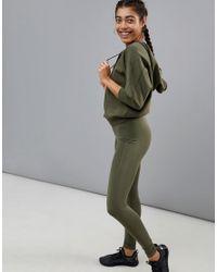 PUMA - Green Yogini Hoodie - Lyst