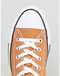 Converse - Multicolor Chuck Taylor All Star Ox Plimsolls In Tan 157651c237 for Men - Lyst