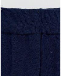 ASOS - Blue Wedding Socks With Design Soles 2 Pack for Men - Lyst