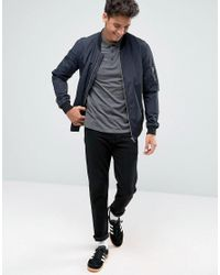 ASOS - Gray Polo Shirt In Charcoal for Men - Lyst