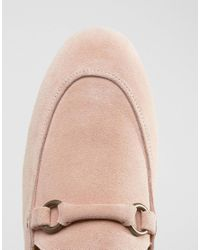 H by Hudson - Pink Renzo Suede Loafers for Men - Lyst