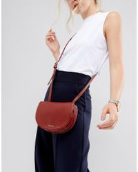 Matt & Nat - Saddle Bag In Deep Red - Lyst