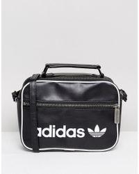 c3d06805b3 Lyst - adidas Originals Originals Vintage Mini Airliner Bag In Black ...