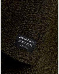 Jack & Jones - Dna Scarf In Green for Men - Lyst