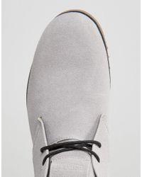 D-Struct - Gray Chukka Boots for Men - Lyst