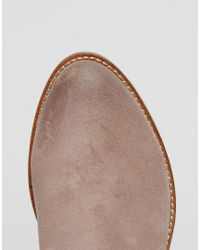 Dune | Brown Penelope Leather Ankle Boots | Lyst