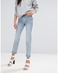 Warehouse - Blue Powerhold Skinny Cut Jeans - Lyst