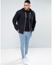 ASOS - Plus Super Skinny Joggers In Blue for Men - Lyst