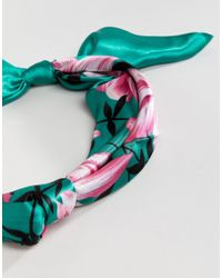 Rock N Rose - Multicolor Rock N Rose Agatha Silk Headscarf - Lyst