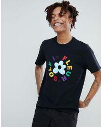 ca62839c162f Lyst - Converse X Golf Le Fleur T-shirt In Black 10009038-a01 in ...