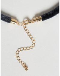 ASOS | Blue Basic Skinny Choker Necklace | Lyst