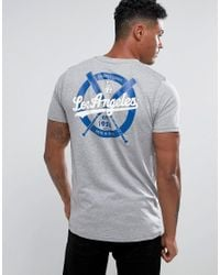 KTZ | Gray L.a Dodgers T-shirt for Men | Lyst