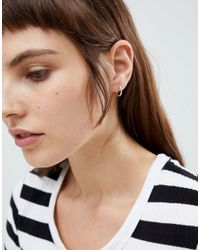 Weekday - Metallic Hoop Earrings Set - Lyst