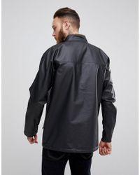 Didriksons 1913 - Shetland Jacket In Black for Men - Lyst