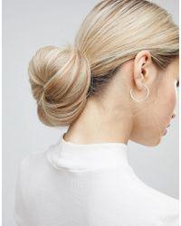 ASOS - Yellow Roll Up Hair Bun Tool - Lyst