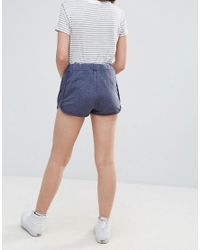 Daisy Street - Blue Jersey Shorts - Lyst