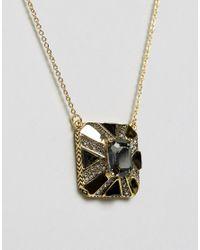 House of Harlow 1960 - Metallic Pendant Necklace - Lyst