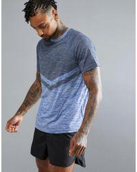 Threadbare | Blue Active Crew Neck Gym T-shirt for Men | Lyst