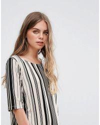 Pieces - Multicolor Damara Print Jersey Dress - Lyst