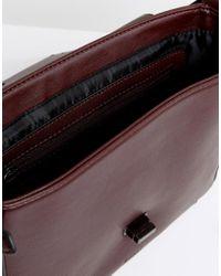 Nali - Red Burgundy Crossbody Bag - Lyst