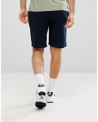 New Look - Blue Jersey Shorts In Navy for Men - Lyst