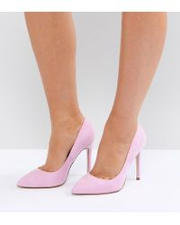 ASOS - Pink Paris Pointed High Heels - Lyst