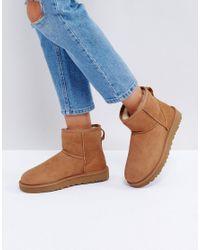 Ugg - Brown Classic Mini Ii Chestnut Boots - Lyst