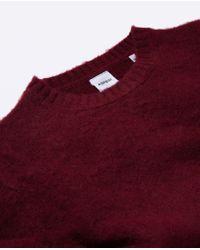 Aspesi - Red Maglia In Lana Shetland Garzato for Men - Lyst