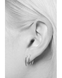 Gabriela Artigas - Metallic 14k Gold Classic Infinite Tusk Earrings - Lyst