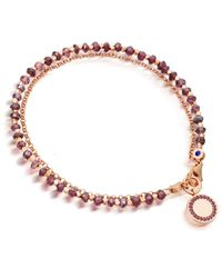 Astley Clarke | Metallic Garnet Cosmos Biography Bracelet | Lyst