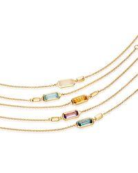 Astley Clarke - Blue Milky Aqua Quartz Prismic Bracelet - Lyst