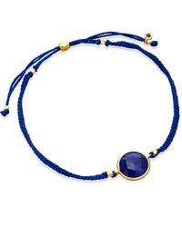 Astley Clarke - Blue Lapis Polka Biography Bracelet - Lyst