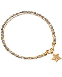 Astley Clarke | Metallic Iolite Super Star Fine Biography Bracelet | Lyst
