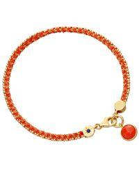 Astley Clarke - Metallic Coral Woven Biography Bracelet - Lyst