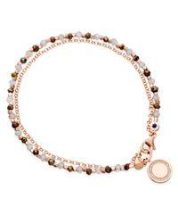 Astley Clarke | Metallic Cosmos Friendship Bracelet With Labradorite & Spinel | Lyst