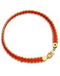 Astley Clarke   Metallic Woven Biography Bracelet   Lyst