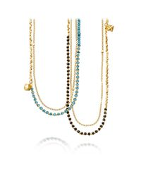 Astley Clarke - Metallic Ocean Quartz Water Element Long Biography Necklace - Lyst