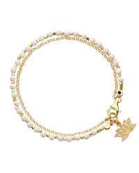 Astley Clarke | Metallic Agate Lotus Biography Bracelet | Lyst