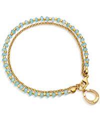 Astley Clarke | Metallic Apatite Horseshoe Biography Bracelet | Lyst