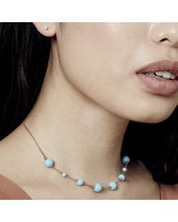 Astley Clarke - Blue Turquoise Peggy Necklace - Lyst