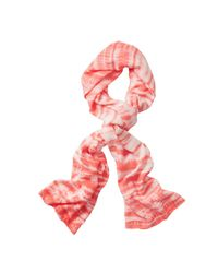 Athleta - Pink Tie Dye Scarf - Lyst