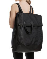 ATM - Black Large Fold Over Backpack - Lyst