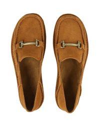 Ariat - Brown Women's Bit Cruiser Suede Shoes - Lyst